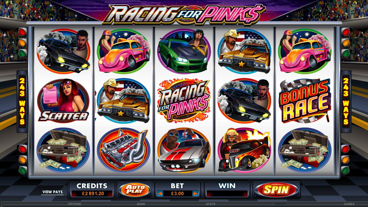SCR888 Tips : Racing for Pinks Slot Game