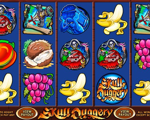 918Kiss(SCR888) Tips : Skull Duggery Slot Game
