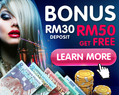 SCR888 Give Slot Game Welcome Bonus Monthly Deposit RM 30 Free RM 50
