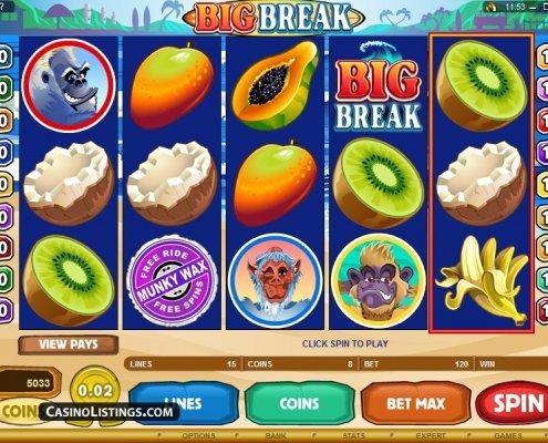 918Kiss(SCR888) Tips : Big Break Slot Game