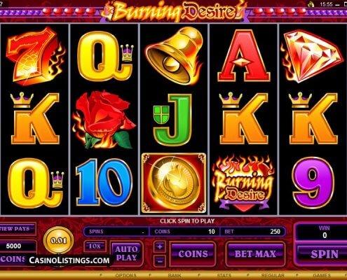 Burning Desire Slot Machine