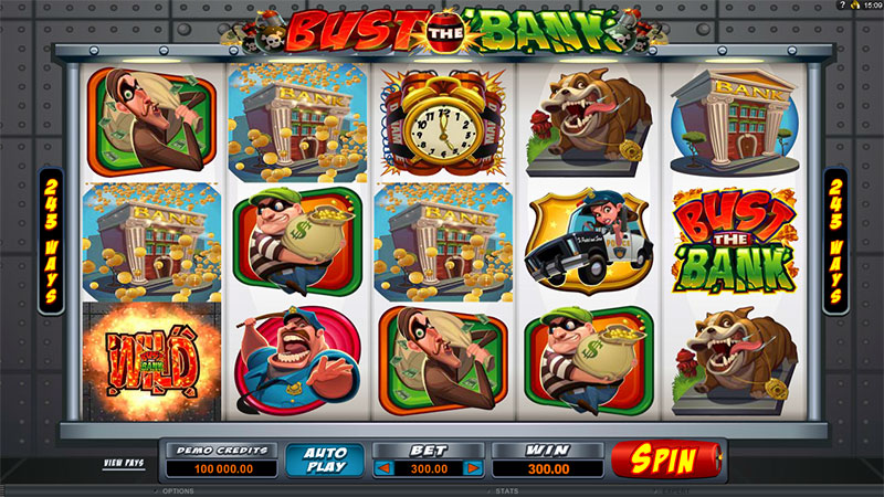 918Kiss(SCR888) Tips :Bust The Bank Slot Game