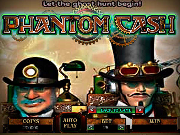 918Kiss(SCR888) Online Slot Game Phantom Cash Introduction: