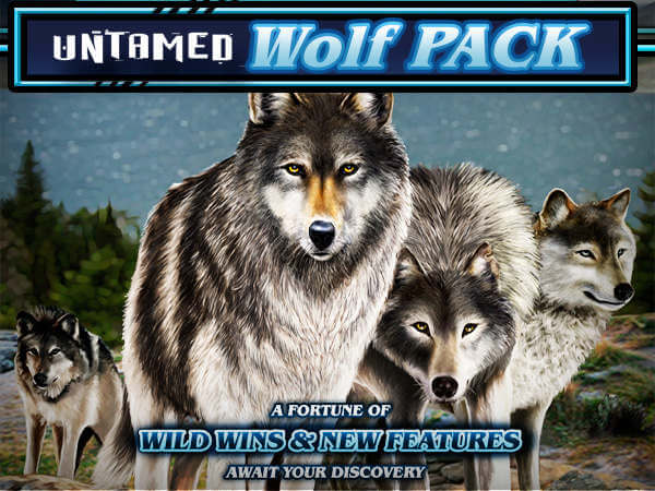 Untamed Wolf Pack in 918Kiss(SCR888) Online Casino