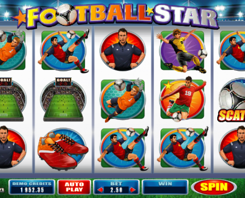 918Kiss(SCR888) Tips : Football Star Slot Game