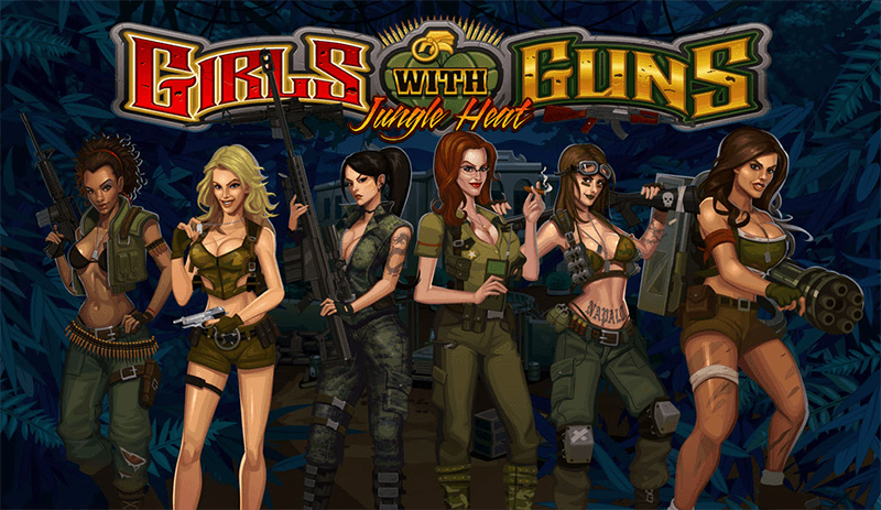 918Kiss(SCR888) Online Casino Slot Game Girls with Guns Introduction: