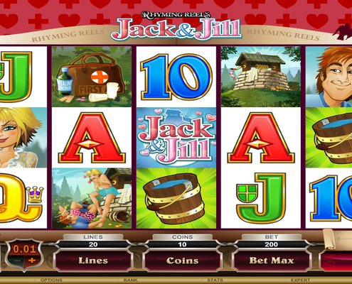 SCR888 Tips : Jack & Jill Slot Game
