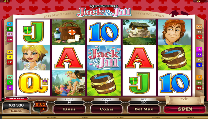 918Kiss(SCR888) Tips : Jack & Jill Slot Game