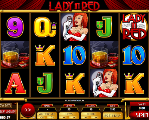 918Kiss(SCR888) Tips of Lady in Red Slot Game