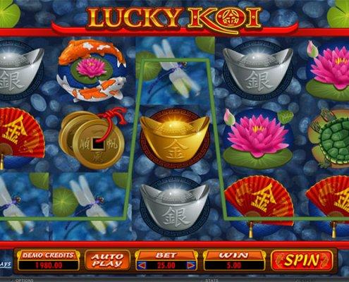 918Kiss(SCR888) Tips :Lucky Koi Slot Game