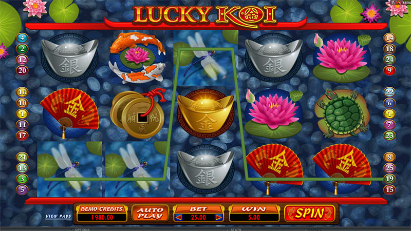 918Kiss(SCR888) Tips :Lucky Koi Slot Game