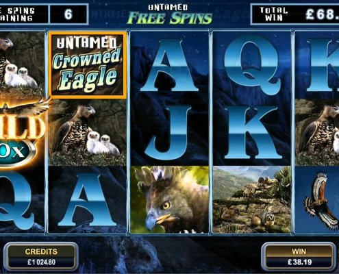 918Kiss(SCR888) Tips : Crowned Eagle Slot Game