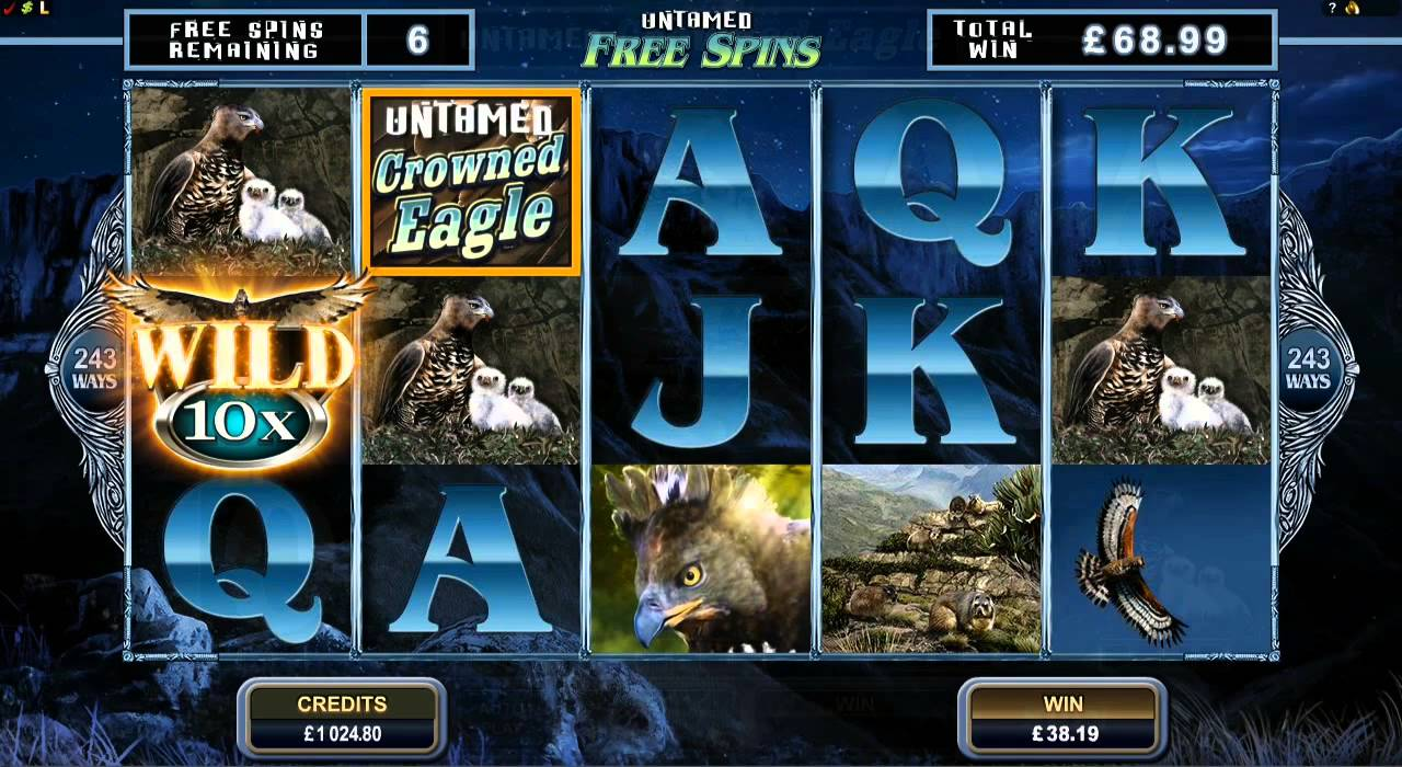 SCR888 Tips : Crowned Eagle Slot Game