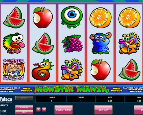 918Kiss(SCR888) Tips : Monster Mania Slot Game