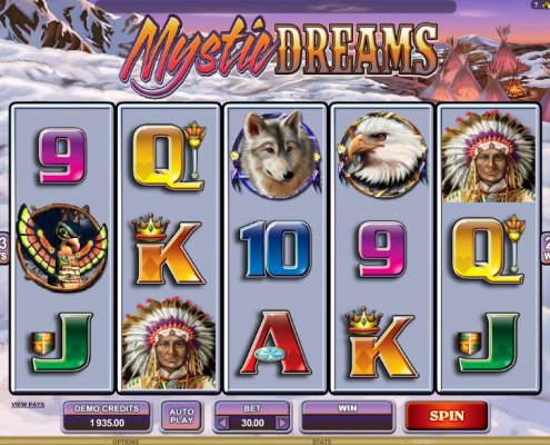 918Kiss(SCR888) Tips of Mystic Dreams Slot Game
