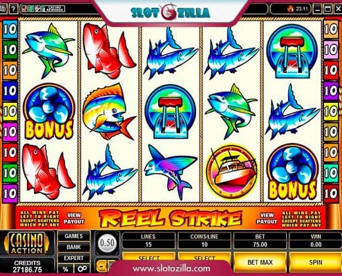 918Kiss(SCR888) Tips:Reel Strike Slot Game