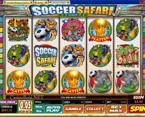 918Kiss(SCR888) Tips : Soccer Safari Slot Game
