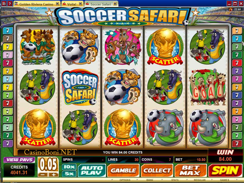 918Kiss(SCR888) Tips : Soccer Safari Slot Game