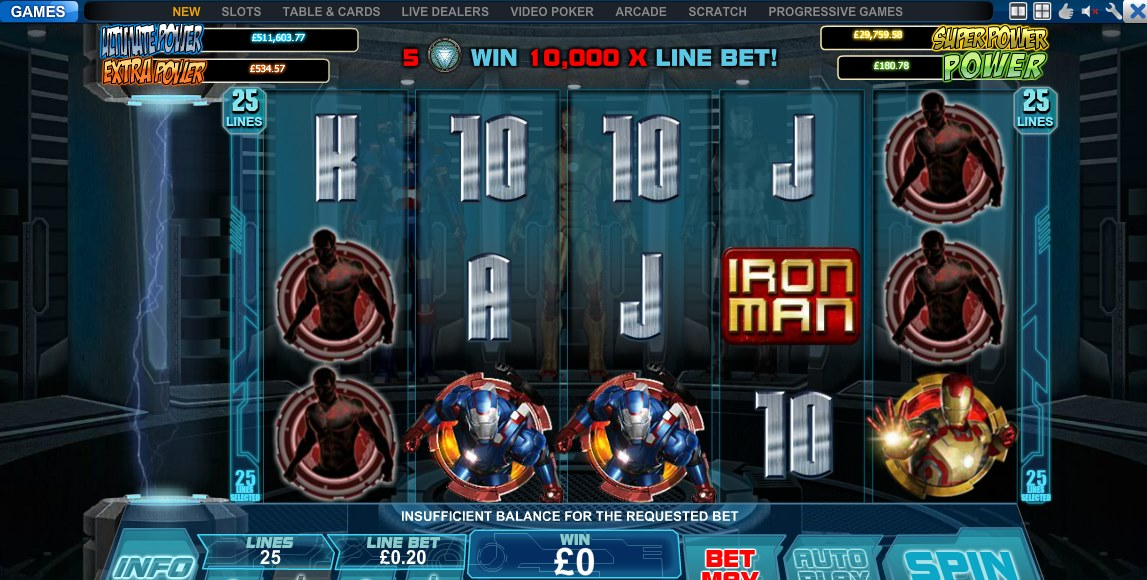 Have Fun in  Iron Man 3 with Scr888 Tips