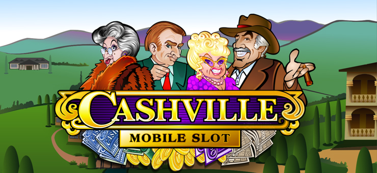 SCR888 Slot Game Cashville description