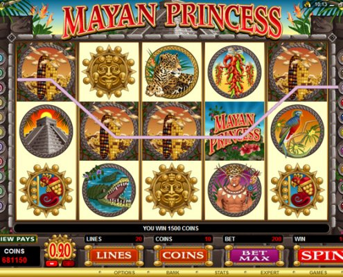 918Kiss(SCR888) Tips of Mayan Princess Slot Game