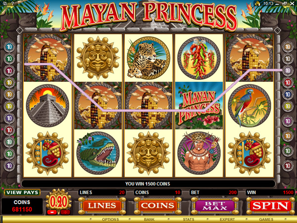 918Kiss(SCR888) Tips of Mayan Princess Slot Game