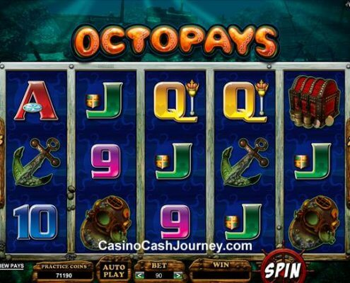 SCR888 Tips of Octopays Slot Game