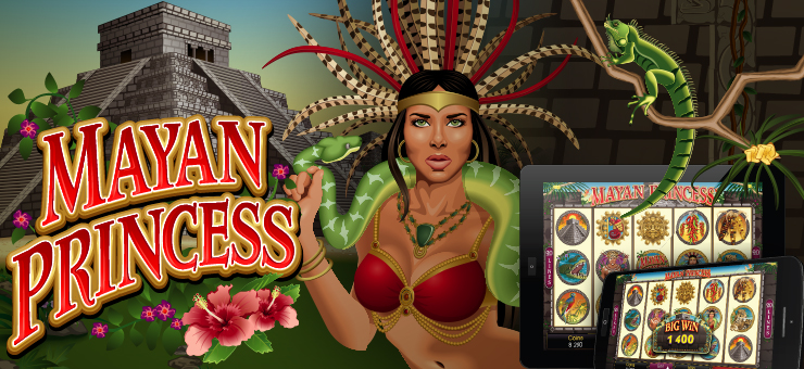 SCR888 Mayan Princess Slot Game description