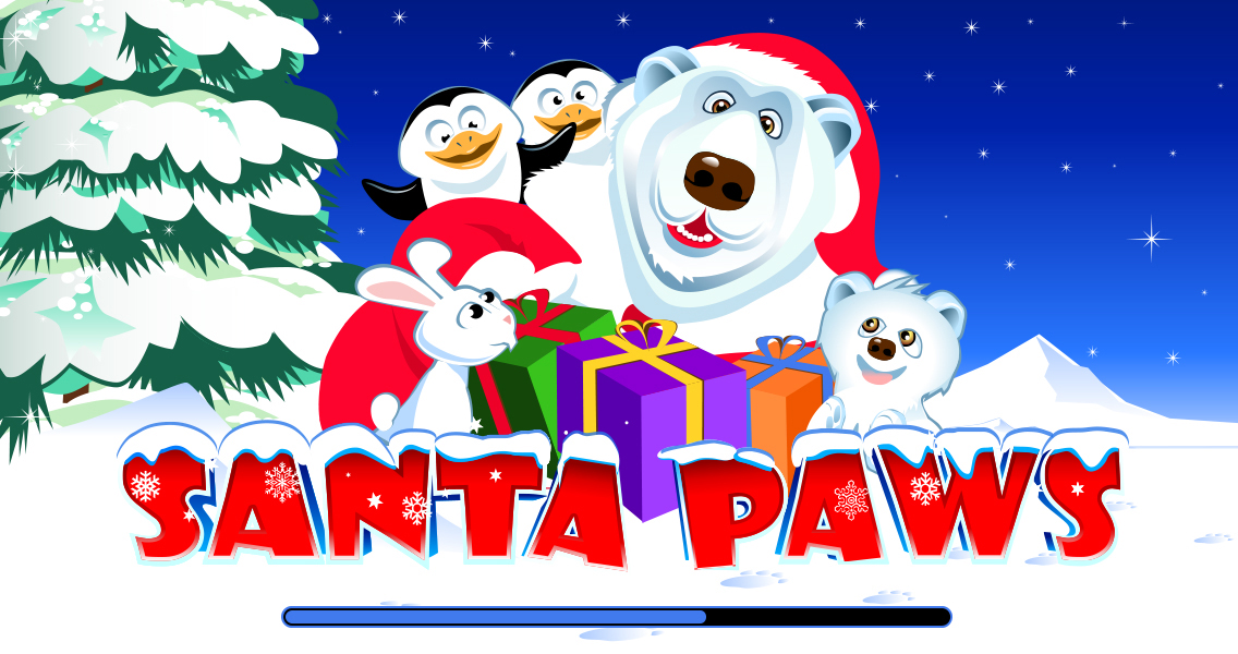 918Kiss(SCR888),hengheng2 SANTA PAWS Slot Game description