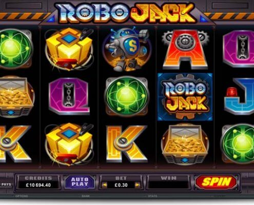 918Kiss(SCR888) Tips of Robo Jack Slot Game