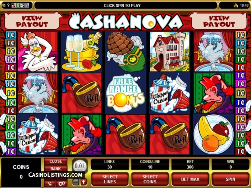 Have Fun in Cashanova with Scr888 Tips