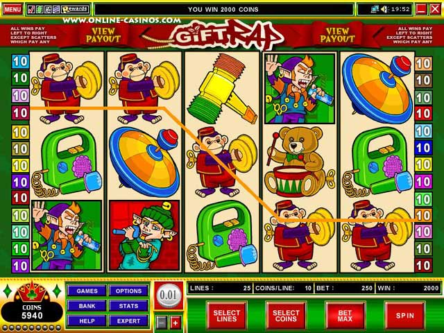918Kiss(SCR888) Tips of Gift Rap Slot Game
