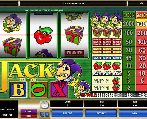 918Kiss(SCR888) Slot Game Jack in Box description