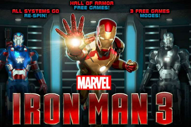 Iron Man 3 Discription in 918Kiss(Scr888) Casino