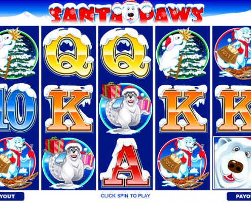 918Kiss(SCR888) Tips,hengheng2 of SANTA PAWS Slot Game: