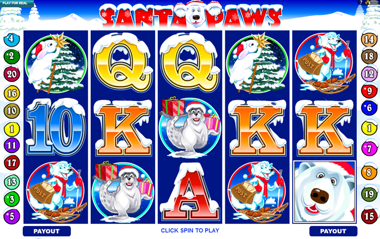 918Kiss(SCR888) Tips,hengheng2 of SANTA PAWS Slot Game: