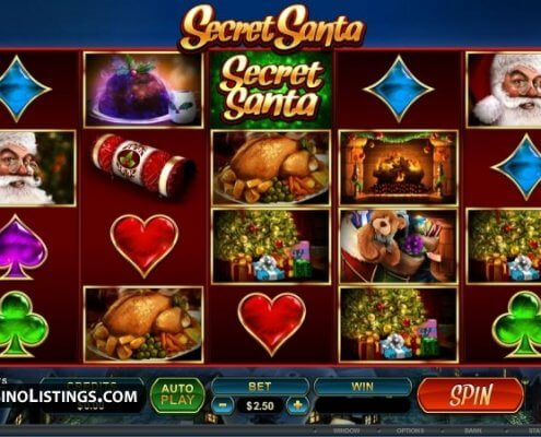 918Kiss(SCR888) Tips of Secret Santa Slot Game: