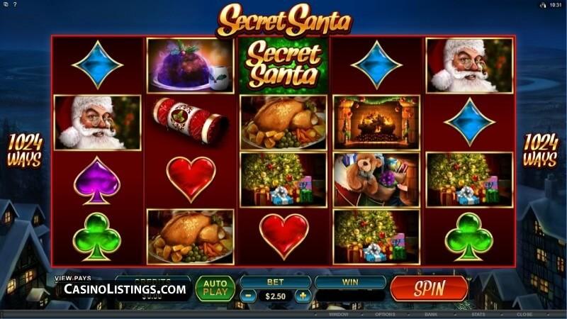 SCR888 Tips of Secret Santa Slot Game: