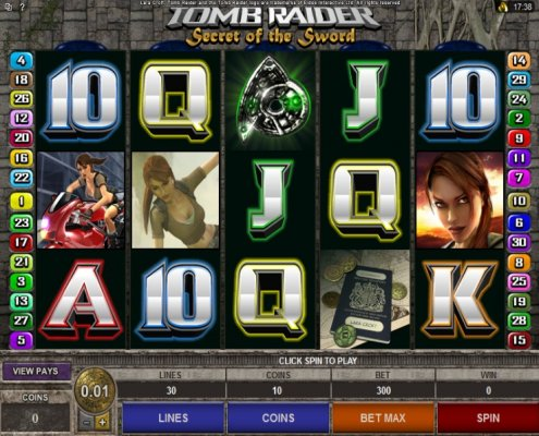 918Kiss(Scr888) Login and have fun in Tomb Raider II Slot Game