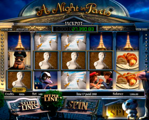 SCR888 Online Casino A Night in Paris slot game