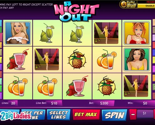 918Kiss(Scr888) Slot Game A Night Out Online Casino
