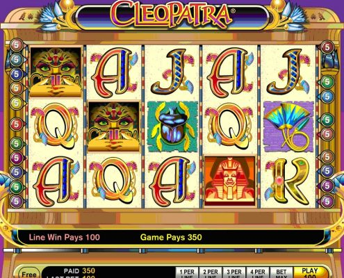m.Scr888.com Slot Game Cleopatra Free Play