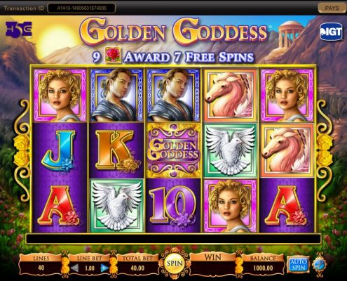 Free Download 918Kiss(SCR888) Golden Goddess slot game