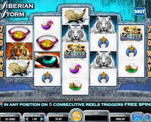 918Kiss(SCR888) Online Casino Download Siberian Storm Slot