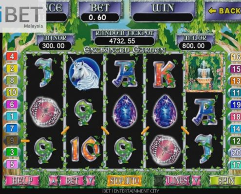 BIG WIN│ SCR888 Enchanted Garden Slot Game│ibet6888.com