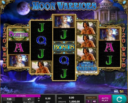 Login SCR888 Casino Moon Warrior Online Slot Game