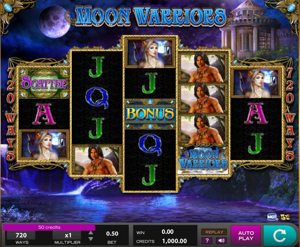Login 918Kiss(SCR888) Casino Moon Warrior Online Slot Game | 918Kiss