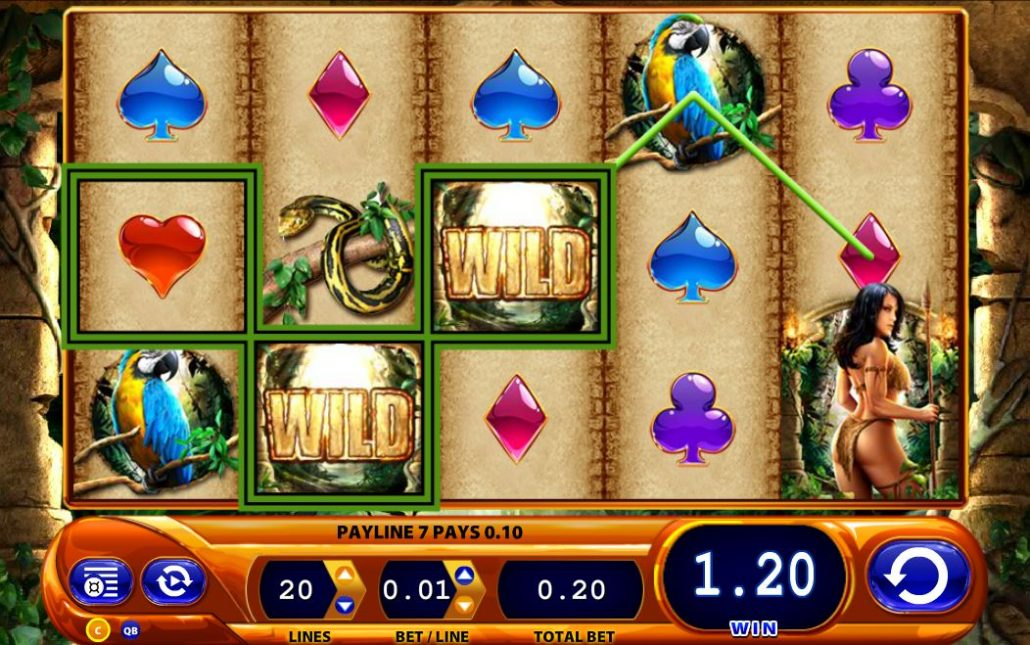 918Kiss(SCR888) Amazon Queen m.scr888 Slot Game Download