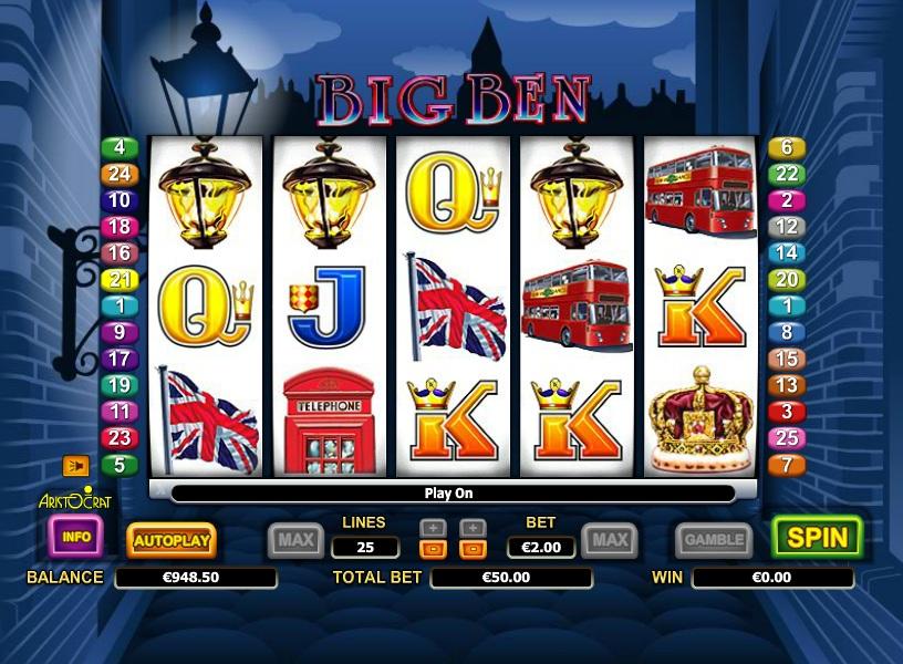 Big Ben Free Slot Game Login SCR888 Online Casino
