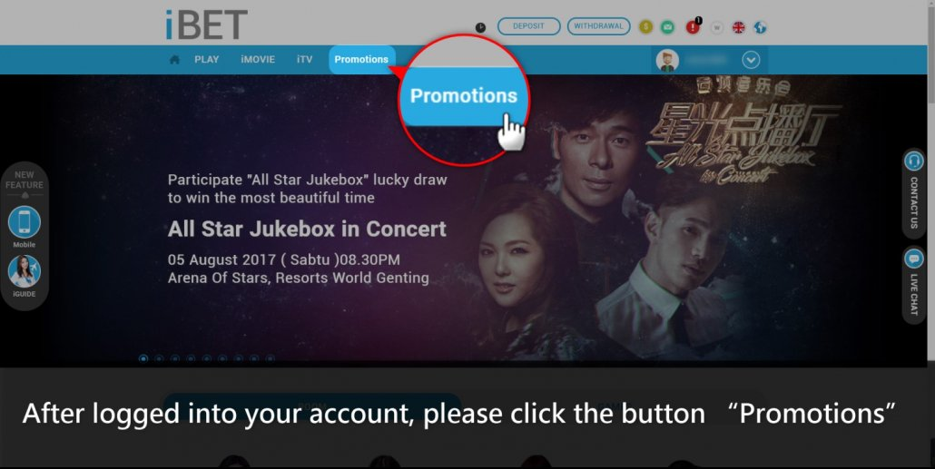 How to Join 918Kiss(SCR888) Lucky Draw All Star Jukebox